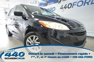 2013 Mazda MAZDA5 GS  * 8 Roues, 6 Passagers *