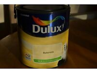 Dulux Silk Buttermilk Paint for walls and ceilings 2.5L