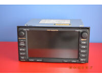TOYOTA AVENSIS CD/MP3 SAT NAV HEAD UNIT