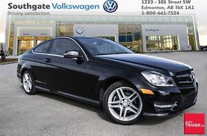 2014 Mercedes-Benz C250 with *Keyless Entry, Power Sunroof, and