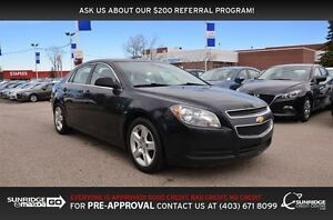 2012 Chevrolet Malibu LS, POWER PACKAGE, CRUISE CONTROL, A/C