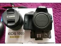 Canon 100D near mint