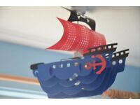 Pirate lamp shade