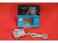 Nintendo 3DS in Aqua Blue £80