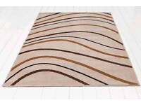 Brand new wave rug