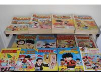 Beano and Dandy. 197 x Comics and Summer specials – Mega Collection