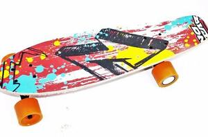 Skateboard electric with remote control and rechargeable battery booster board gyrocopters board swag board best quality