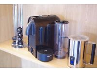 Magimix M130 Nespresso Coffee Machine w/ Milk Frother and Rotary Coffee Stand