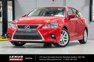 2014 Lexus CT 200h TOURING; CUIR TOIT CAMERA LOW MILEAGE - 4.6L