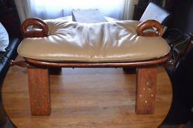 very rare, camel saddle stool