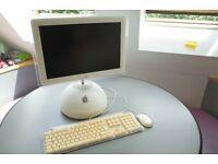 iMac G4, 1.0 GHz, , 256Mb memory RAM, 80GB HDD, wifi card