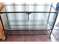 Glass shop counter