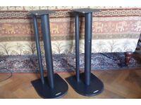Atacama Nexus 6i Speaker Stands - Satin Black