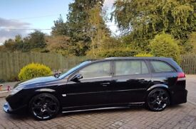 Vauxhall vectra estate + one off body kit + 19s + lowered + twin exhausts + more....