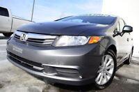 2012 Honda Civic EX A/C + GARANTIE + TOIT OUVRANT