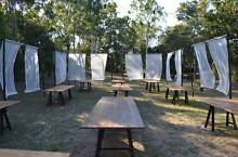 Timber Trestle Tables Mosman Mosman Area Preview
