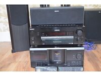 SONY STR - DB 940 QS Home Theatre Tuner/Amplifier 5+1 Sound System