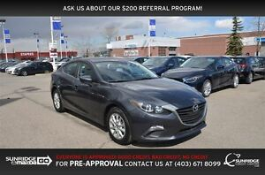2015 Mazda MAZDA3 GS, REMOTE STARTER, HEATED SEATS, BACK UP CAM