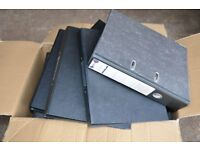 Large Lever Arch Files x37 & Small files x9