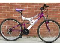 Women's full sus mountain bike