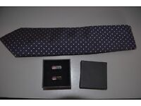 NEXT Tie and cufflinks set