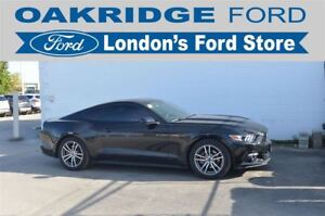 2016 Ford Mustang 2.3L ECOBOOST, 6 SPEED AUTOMATIC WITH PADDLE S