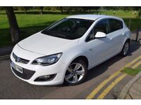 JUST SERVICED, 2012 VAUXHALL ASTRA SRI 1.6,PETROL,AUTO,PARKING SNSR,WHITE,AIR CON,ALLOYS,5DR,HPI CLR