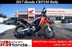 2017 Honda CRF250RY RALLY Canadian Trail-Ready!! High RPM Power!