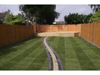 PROFESSIONAL GARDENING AND BUILDING SERVICES: DRIVEWAY, DECKING, TURFING, PATIO, FENCING ,PAVING