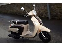 Brand New 125cc Scooter ROMET Latte City 2years Warranty