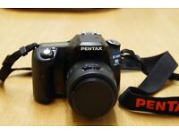 Pentax K100D Super DSLR camera