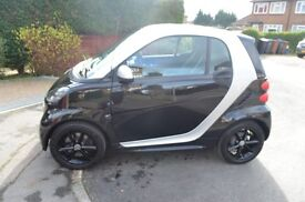 SMART fortwo coupe grandstyle. 64 plate. Full dealer service history