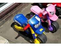 Toddler ride on motorbikes