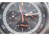 Omega Flightmaster manual wind mechanical chronograph wristwatch - '69-'77 - cal 911 - ST145-036