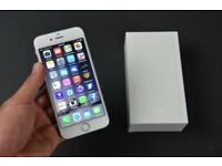 APPLE IPHONE 6 IN WHITE WITH BOX AND ACCESSORIES ** UNLOCKED TO ALL NETWORKS**