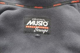 Mens Black Musto Sailing Jacket - Medium