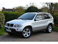 2004 BMW X5 4x4, 3.0D Diesel Auto, SUV, Great Condition, Full History, Long MOT