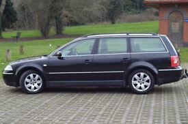 VW Passat 2003 2.0 black estate tow bar 1150£ . Rugby