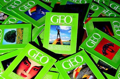 GEO Magazin, Erstausgabe bis 12/1980 komplett = 53 Hefte