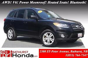 2012 Hyundai Santa Fe GL Sport - AWD AWD! V6! Power Moonroof! He
