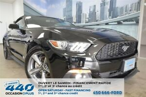2017 Ford Mustang V6 | CONVERTIBLE, BLUETOOTH, CERTIFIABLE FORD