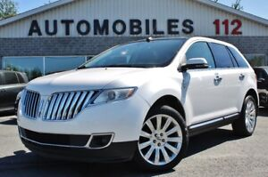 2014 Lincoln MKX Limited / GPS / Toit pano / 20 pouces