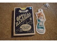 OPTICAL ILLUSION CARDS (VERY CHEAP AND BARELY USED!!)