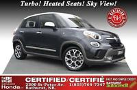2014 Fiat 500L Trekking New Tires! Turbo! Heated Seats! Sky View