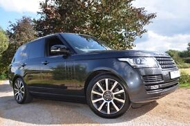 Range rover vogue 2013 every extra. executive seating in the back