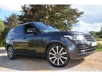 Range rover vogue 62 plate every extra. executive seating in the back