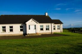 Large NITB N. Coast holiday home. 5 bedrooms. Large gardens. Limited summer availability. Free wifi