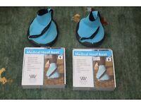 Pair of Horse, Hoof Medical Boots. Neoprene/Zip. Large. From Woof. Unused. Half Price.