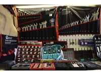 Van Full of Hand Tools, Ratchets, Socket Sets, Spanners Sets, Garage Tools - With Delivery