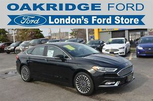 2017 Ford Fusion AWD LEATHER SUNROOF NAVIGATION LOADED!!!!